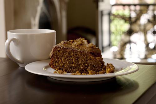 Coffee Cake With Chicory Essence
