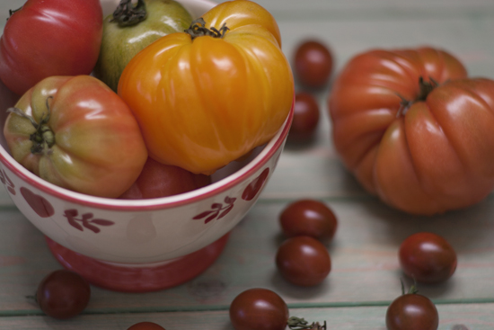 heirloom & cherry tomatoes