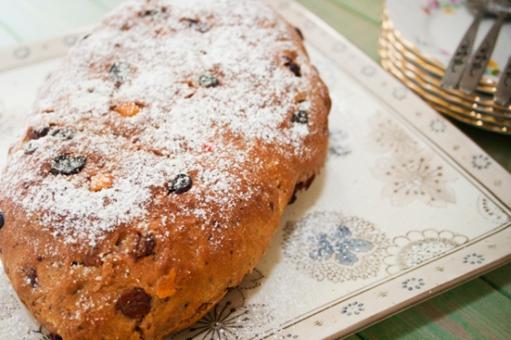 Christmas Stollen Loaf
