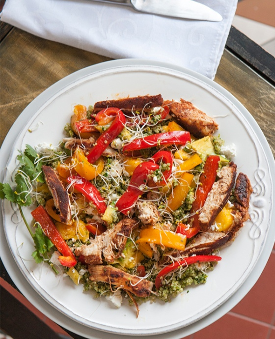 Blackened Chicken and San Fran Quinoa Salad