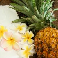 Autumn crème brûlée with spiced pineapple